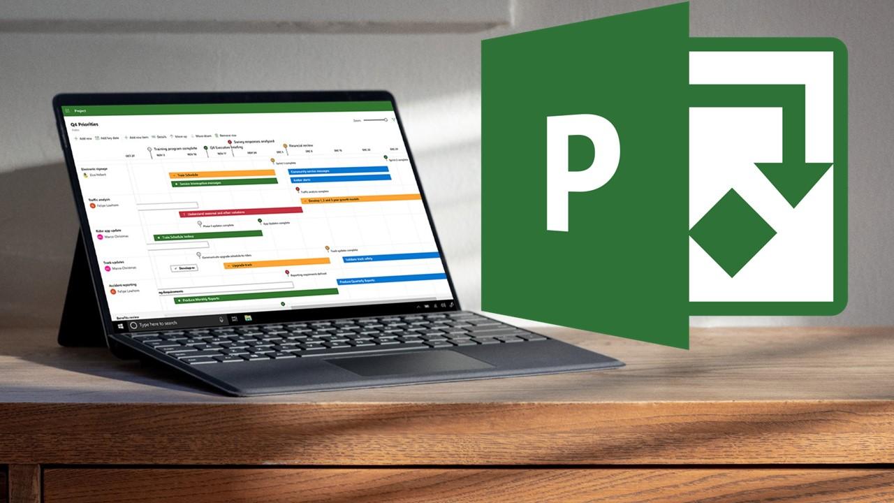 Course Image Control de Proyectos con Microsoft Project